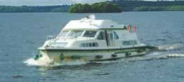 Emerald Star boating on the River Shannon